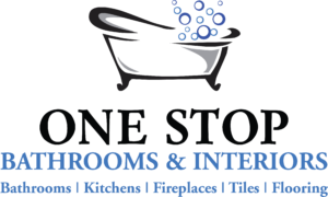 One Stop Bathrooms Logo workington