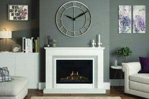 fireplace showcase